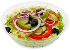 Курица Терияки салат
