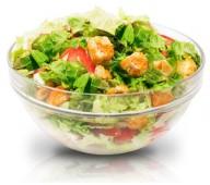 Салат Цезарь вегетарианский