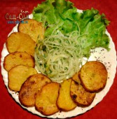 Картошка запеченная на мангале