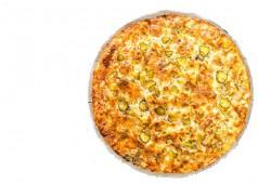 Пицца куриная с ананасами, 32 см.