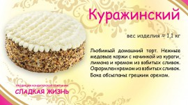 Торт Куражинский