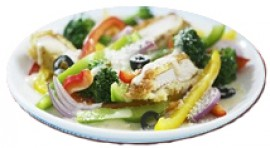 Салат брокколи рабе, 150 гр.
