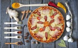 Пицца Охотничья, 24 см.