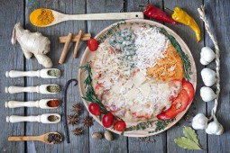 Пицца 4 сыра-Пепперони, 32 см.