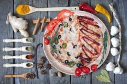Пицца Диабо-Курица барбекю, 32 см.