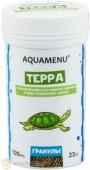 Корм Aquamenu Терра, гранулы, 100 мл.