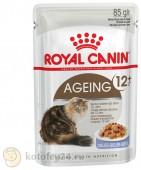 Корм Royal Canin Pouch Ageing +12 в желе, 1 шт.