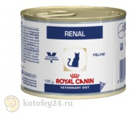 Консервы Royal Canin Veterinary Diet Can Renal Feline, с курицей, 1 шт.