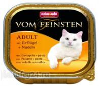 Консервы Animonda Vom Feinsten Adult, с домашней птицей и пастой, 1 шт.