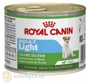 Консервы Royal Canin Adult Light, 1 шт.