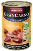 Консервы Animonda GranCarno Original Adult Dog, с говядиной и индейкой, 1 шт.