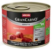 Консервы Animonda GranCarno Sensitiv Adult Dog, с говядиной, 200 гр.