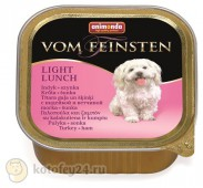 Консервы Animonda Vom Feinsten Adult Dog Light Lunch, с ин-ой и ветчиной, 1 шт.