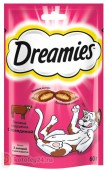 Dreamies Лакомые подушечки со вкусом говядины, 30 гр.