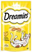Dreamies Лакомые подушечки со вкусом сыра, 60 гр.
