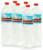 Вода Заповедная, 1,5 л./6 шт.