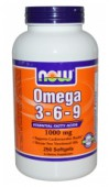 NOW. Omega 3-6-9 1000 mg., 250 softgels
