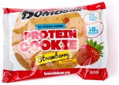 Печенье неглазированное BOMBBAR, клубника, 60 гр.