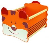 Ящик для хранения I`m Toy Тигр, оранжевый