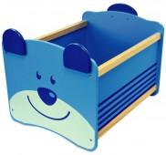 Ящик для хранения I`m Toy Медведь, синий