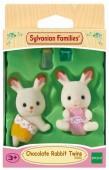 Sylvanian Families набор Шоколадные Кролики-двойняшки