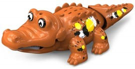 Аква крокодильчик, коричневый