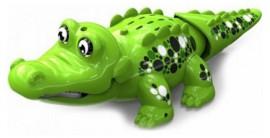 Аква крокодильчик, свето-зеленый