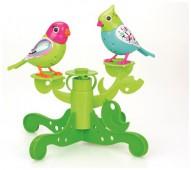 Две птички с деревом