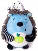 Мягкая игрушка Ежик Засоня, 15 см.