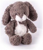 Мягкая игрушка Заяц Мил темный, 23 см.