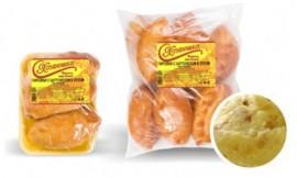 Пирожки печеные с картофелем и луком, 10 шт.