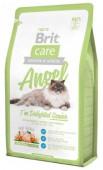 Брит Care Angel Delighted Senior для пожилых кошек, 400 гр.