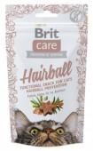 Brit Care Cat Snack Hairball лакомство для кошек, 50 гр.