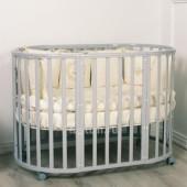 Кровать детская Incanto MIMI 7 в 1 с накладкой ПВХ