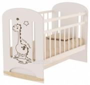 Кровать детская DINO колесо-качалка, маятник