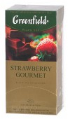 Greenfield Strawberry Gourmet ,черный чай