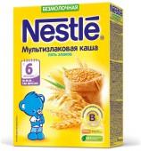 Каша Nestle безмолочная мультизлаковая 5 злаков с 6 месяцев 200 г., 1 шт.