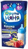 Каша ФрутоНяня молочная Мультизлаковая с персиком