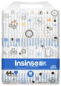 Подгузники Insinse Q5 M, 64 шт, 6-9 кг.