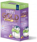 Молочная смесь Nuppi Gold 3 с 12 месяцев, 350 г, 1 шт.