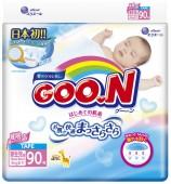 Подгузники Goon NB, 90 шт, до 5 кг.