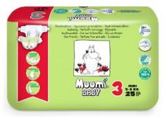 Подгузники Muumi, 25 шт, 5-8 кг.