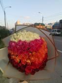 Градиент из 101 розы